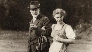Freud con su hija Anna