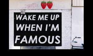 moda de ser famosos
