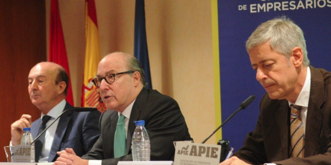 Presentación del informe del circulo de empresarios de madrid