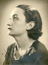 Ernestina de Champourcín en 1936. Archivo Universidad de Navarra