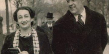 Ernestina de Champourcín con su marido Juan José Domenchina Archivo General de la Universidad de Navarra