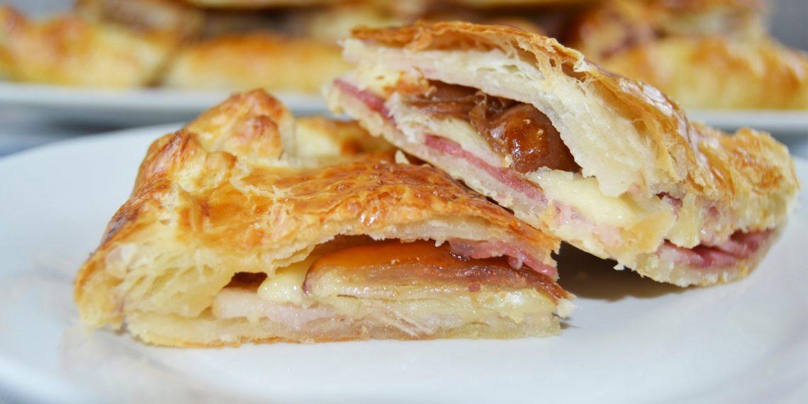 empanada rápida de jamón queso y dátiles