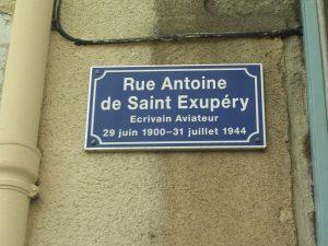 Calle de Antoine de Saint-Exupéry