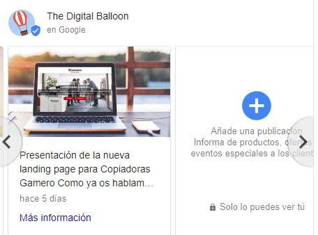 Por qué tu negocio tiene que estar en Google My Business publicaciones