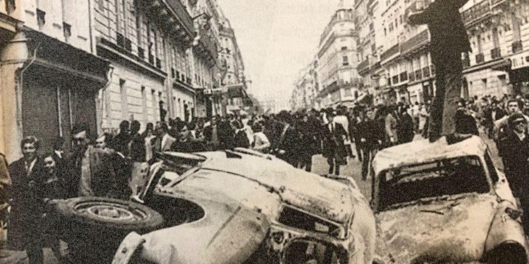 Mayo del 68 Barrio latino
