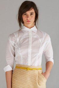 Lifegist/Devi Shirt Blanca con botones de Lifegist