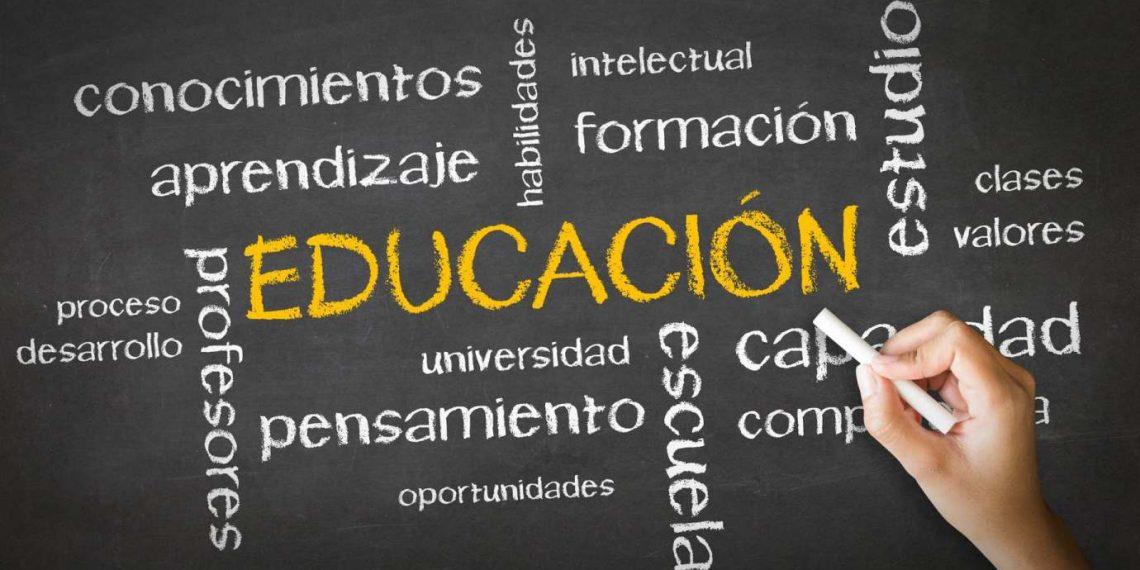 Educación lleva tilde