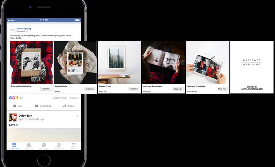 anuncios en facebook más visibles