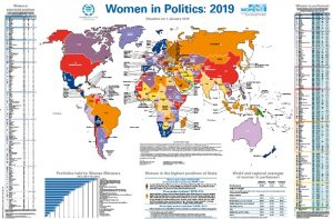Crece el número de mujeres en política