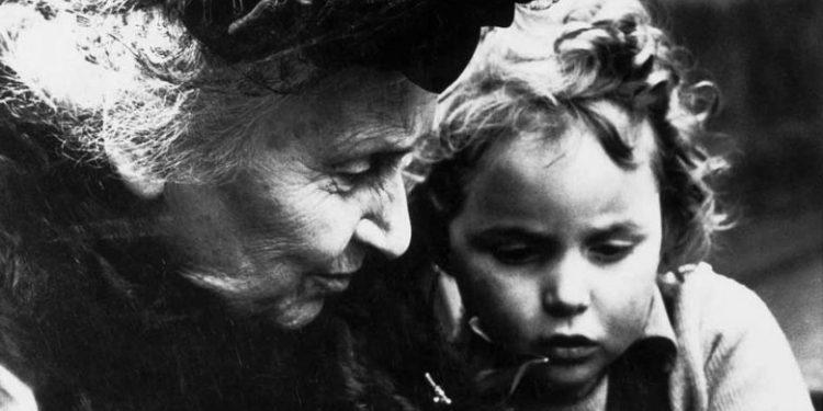 Maria Montessori metodo niño educacion