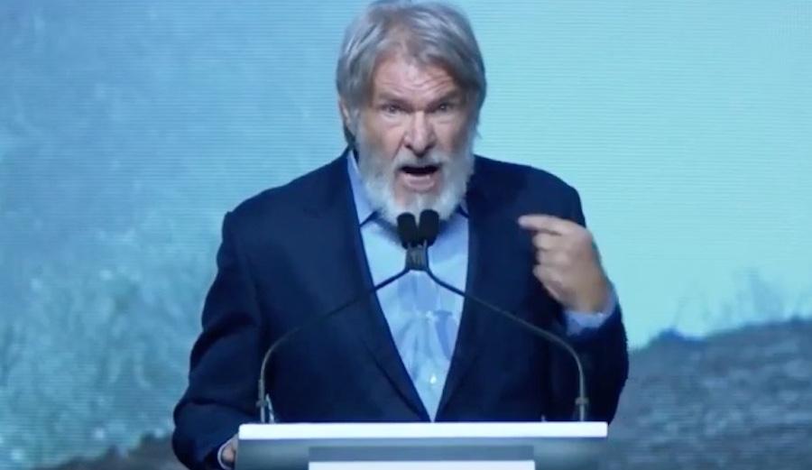 Harrison Ford y la naturaleza