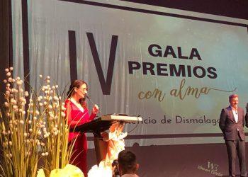 Sara Gili, Directora de la Revista Ciudad con Alma introduce los Premios