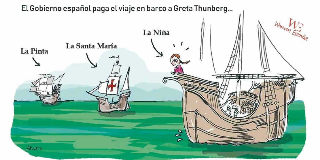 ¿Aprueba usted que el Gobierno pague el viaje en barco a Greta Thumberg?