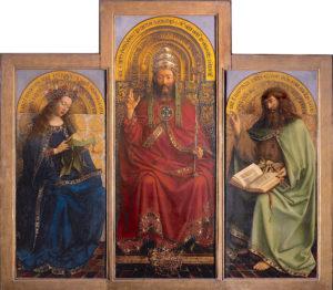 Altar de Gante. Jan van Eyck