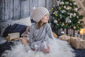 padres en Navidad